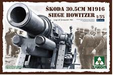 CANON DE SIÈGE SKODA 30.5cm Mod. 1916, WW2 - KIT TAKOM INTERNAT. 1/35 n° 2011
