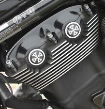 Cam-/ Nockenwellen Cover 3D Harley Davidson V-Rod Modelle / Kreuz Wei�Ÿ