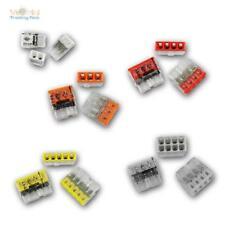 WAGO Compact Steckklemmen 2/3/4/5/8x 0,5-2,5 mm² Dosenklemmen, NEUE Generation