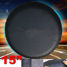"US 15"" black Spare Wheel Tire Cover/Covers Fit For All Car Universal 28""-29"""