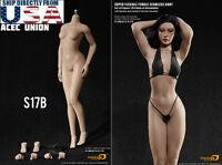 PHICEN 1/6 S17B Super-Flexible Female M Bust Seamless Body SUNTAN Steel Skeleton