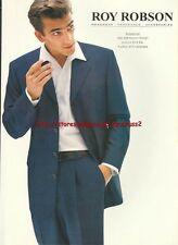 Roy Robson Menswear Clothing 1998 Magazine Advert #2785