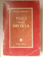 """Libro """"Voci della Storia"""" di Nunzio Sabbatucci"""