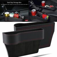 Car Seat Cup Drink Holder Organizer Crevice Box Storage Auto Gap Pocket Stowing