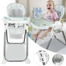 Kinderstuhl Babystuhl Höhenverstellbar Hochstuhl mit Liegefunktion Rückenlehne