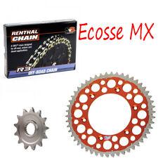 KTM SX150 XC150 Renthal Gold Oring Chain Renthal Twinring Sprocket Kit ORANGE