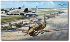 Flying Tiger Legacy By John Shaw ARTIST PROOF WWII American Volunteer Group