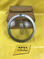 NEU + ORIG Opel Olympia Rekord P2 Scheinwerfer Glas + Rahmen Bosch Streuscheibe