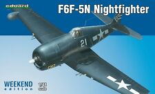 Eduard 1/48 Kit Modelo 84133 Grumman F6F-5N Hellcat Nightfighter Edición Weekend
