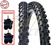 2 COPERTONI + CAMERE D'ARIA MTB 24 x 1.90 (50-507) BICI BICICLETTA MOUNTAIN BIKE