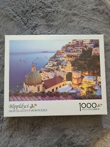 1000 Pcs High Quality Paper Puzzle Jigsaw Puzzle Age 8+ Blppldyci Night Sea View