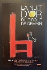 Affiche originale « Cirque de demain » - Desclozeaux