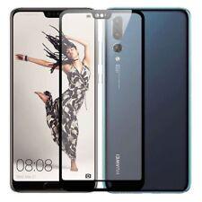 3D Premium 0,3 mm H9 Hart Glas Schwarz Folie für Huawei P20 Schutz Neu Zubehör