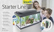 Aquarium Starter Line LED Fish Tank Complete Set, 54 Litre