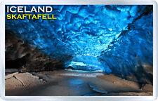 ICELAND SKAFTAFELL ICE CAVE FRIDGE MAGNET SOUVENIR IMAN NEVERA ISLANDIA