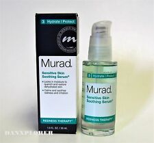 MURAD REDNESS THERAPY SENSITIVE SKIN SOOTHING SERUM 1oz or 30ml, NEW IN BOX!!!