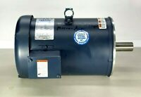 NEW ~ LESSON 7.5 // 5 HP 3 PH ELECTRIC MOTOR C184T34FC24A - G131912