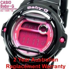 CASIO BABY-G DIGITAL WATCH BG-169R-1B BLACK x PINK BG-169R-1BDR 2-YEARS WARRANTY