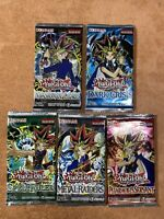 5x Yugioh Legendary Packs MRD SRL PSV IOC DCR Invasion Chaos 100% UNWEIGHED