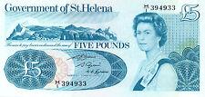 Saint Helena P-7b 5 pounds (1981) UNC