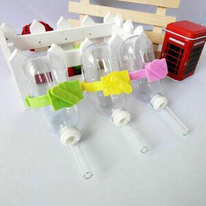 Hamster Water Bottle Holder Dispenser With Clip Cage Hanger Ani For Small K8L1