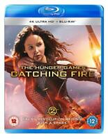 The Hunger Games Catching Fire UHD [Bluray] [2018] [DVD]