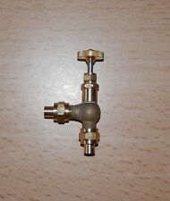STUART & OTHER MODEL LIVE STEAM ENGINE 90 DEGREE GLOBE VALVE 1/4 x 40, 5/32 PIPE