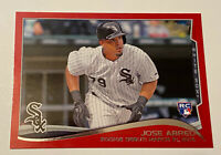 2014 JOSE ABREU Rookie RC Topps Update TARGET RED BORDER #US-325 SP RARE 💰💰💰