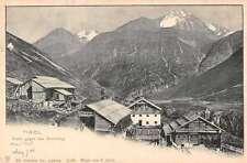 Tirol Austria panoramic birds eye view of area antique pc Z15977