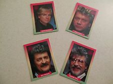 Moody Blues - 4 collector cards - complete band set - 1991 Rock Cards