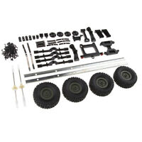 RC Car Trailer Chassis Assembly Kits for WPL 1/16 6WD RC Military Truck DIY
