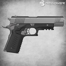 Recover Tactical Grip & Rail Panel System for 1911 By Models  Colors - CC3H