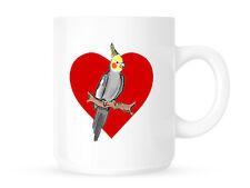 COCKATIEL / BIRD LOVERS - MUG/CUP - PERFECT OFFICE/GIFT IDEA