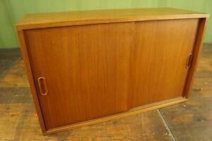 String Regal Teak 60s Sideboard Schrank Vintage Danish für Hairpin Legs 60er 4