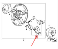 BMW Z4 E85 Volante Raggi Cover Set 32348035331 8035331 Nuovo Originale