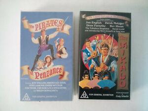 The Pirates of Penzance & Mikado VHS, Jon English