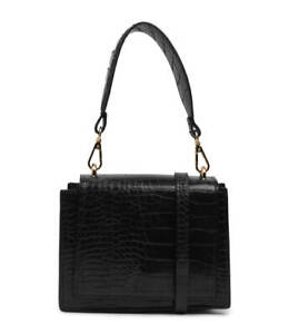 New Olga Berg Molli Black Smooth Womens Shoes Casual Bags Cross Body