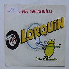 LORQUIN J aime ma grenouille A1595 Dessin Margerin