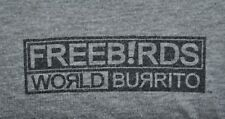 T-SHIRT M MEDIUM FREEBIRDS WORLD BURRITO TEX MEX SHIRT
