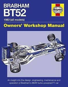 Brabham BT52 Owners Workshop Manual, Andrew van de Burgt, Very Good condition, B