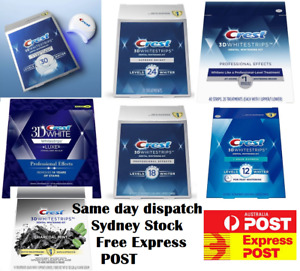 Crest 3D White Professional Effect Supreme 1 hour express Teeth Whitening Strips