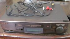 Hitachi VT-FX624 VHS VCR Recorder with AV Cables