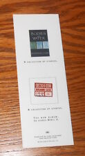 Bodies of Water Collection of Stories Card Handbill Promo 6x2