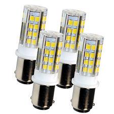 4-Pack HQRP BA15d LED Bulb for Kenmore 117.959 158.104 158.141 158.161 158.331