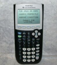 Texas Instruments Ti-84 Plus Graphing Calculator - Black - Works Perfectly