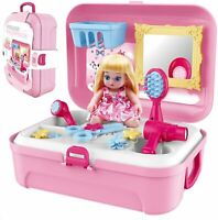 Baby Care Set for Kids - Pretend Beauty Dress Up Toy Doll - Ideal Gifting Girls