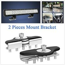 304 Stainless Steel Mount Brackets Silver Color For LED Work Lamps Lights