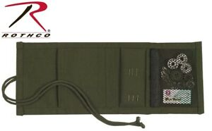 Sewing Kit Olive Drab Green Canvas Military Sewing Kit 1123