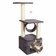 Cat Tree Activity Centre Scratcher Scratching Post Kitten Play Toy Scratch Bed