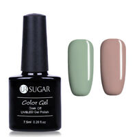 2Flaschen/Set  Serie Soak Off Nail Art UV Gel Nagellack Tipps UR SUGAR 7.5ml